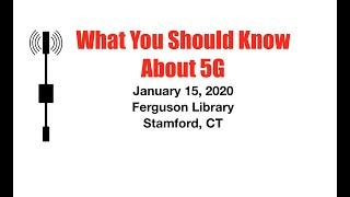 Stamford Meeting January 15, 2020