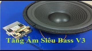 Mạch Tăng Âm Công Suất Siêu Bass Với 2 Sò D718 Và B688 - V3