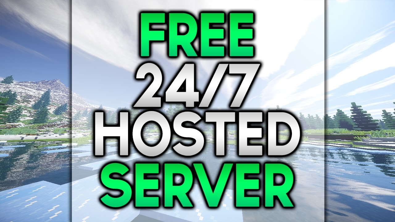how to get an online hosted minecraft server for free