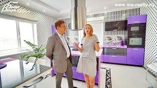 Презентация нового дома с красивой стильной отделкой для молодой семьи в Воскресенском в Москве