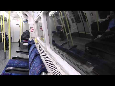 Full Journey On The Northern Line From High Barnet to Morden via Bank