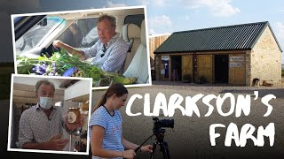 Filming Jeremy Clarkson at his farm | BTS VLOG