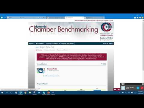 ACCE Webinar: 2015 Operations & Salary Survey Reports & Comparisons in Dynamic Chamber Benchmarking