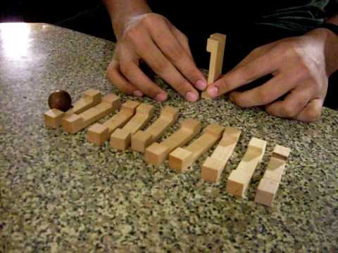 Wooden Puzzle Solution Part 1