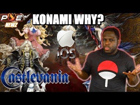 Castlevania is BACK! TO iOS, WHY Konami?! Dark Souls Swtich Delayed & Octopath Traveler!   PE NewZ