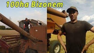 Wykosiłem 100ha Bizonem | Awaria na wizji [vlog#44]