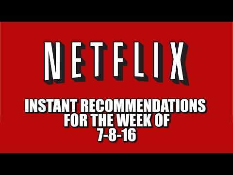 Netflix Instant Recommendations July 8 2016