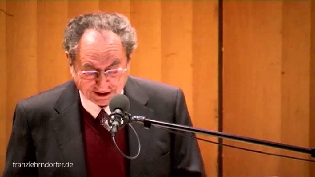 Franz Lehrndorfer   Ansprache Zum 80. Geburtstag