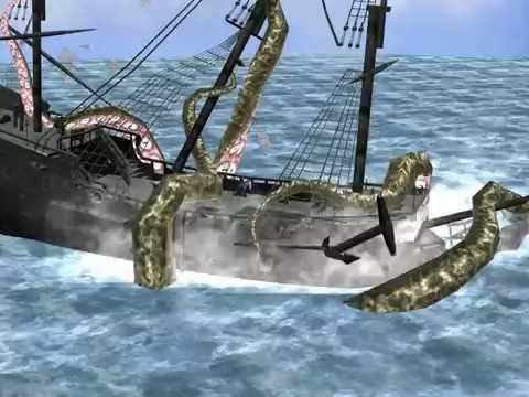 #7  Битва с Кракеном  | Пираты Карибского моря: на краю света |
