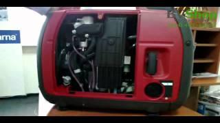 видео Бензиновый генератор Honda EU 20i