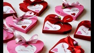 Классные  Валентинки (для Одноклассников)Просто Быстро Много.Поделки из бумаги Своими руками