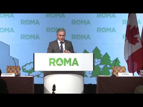 2018 ROMA Conference - The  Honourable Bill Mauro, Minister of Municipal Affairs