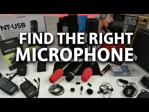 The best Microphones for YouTube 2016 !