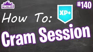 How To Cram Session | Tips & Tricks | Fortnite #140