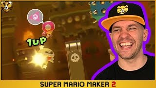 Super Mario Maker 2: Making 0.08% Clear Rate Levels Look Easy!