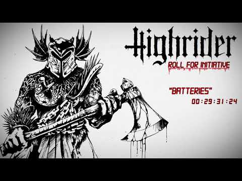 HIGHRIDER - ROLL FOR INITIATIVE (OFFICIAL ALBUM STREAM 2017) [THE SIGN RECORDS ]