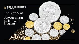 2019 Australian Bullion Coin Program unveiled by The Perth Mint