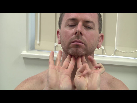 How To Check Your Lymph Glands - Melanoma Awareness