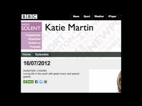 Interview with Katie Martin on BBC Radio Solent