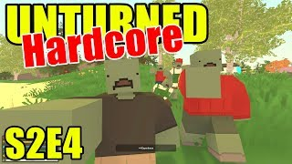 Unturned HARD Mode - Dying of Infection! - S2E04 (New Brunswick Map)