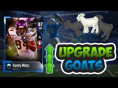 HOW TO UPGRADE YOUR GOAT PLAYERS +4 OVERALLS!! - Madden 18 Ultimate Team