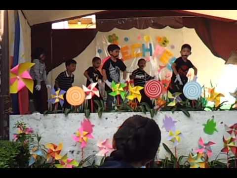 Nsync Bye Bye Bye performance (Little Friends Academy)