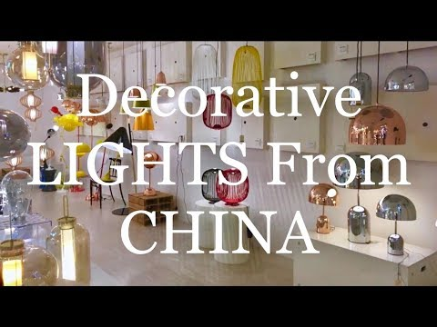DECORATIVE LIGHTS FROM CHINA.