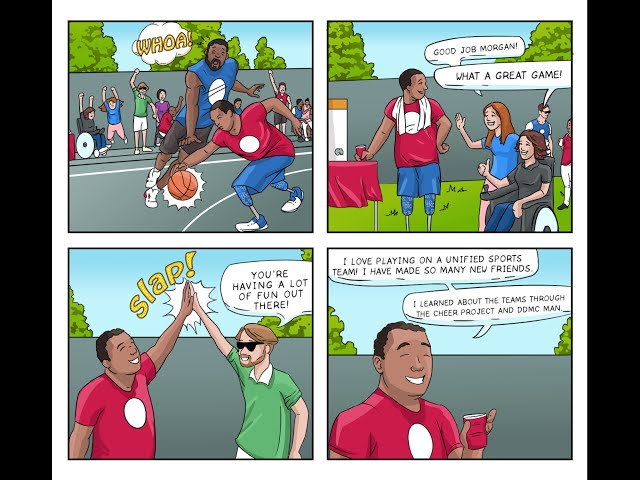 DDMC Comic: Busting Down Barriers-Project CHEER Episode