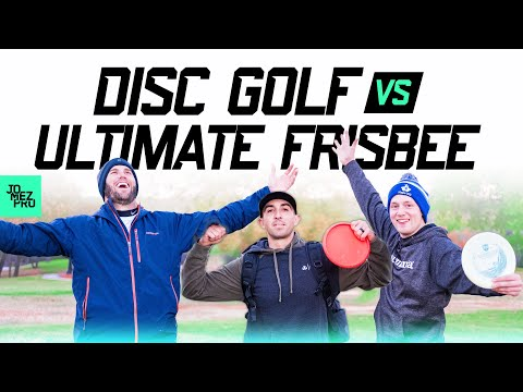 Brodie Smith Battles Paul McBeth & Simon Lizotte | Disc Golf vs Ultimate Frisbee | JomezPro