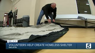 Gallatin woman operates homeless shelter out of church gym