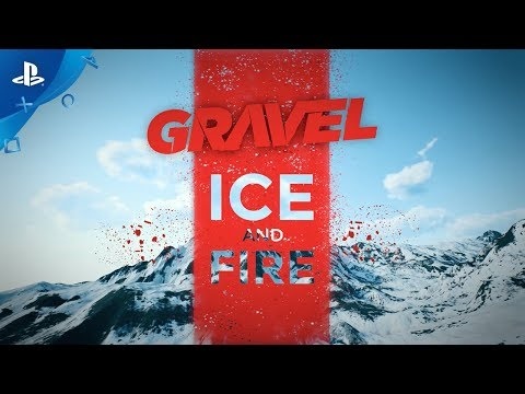 GRAVEL – Ice and Fire Pack DLC Trailer | PS4