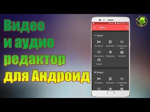 Аудио и видео редактор Timbre
