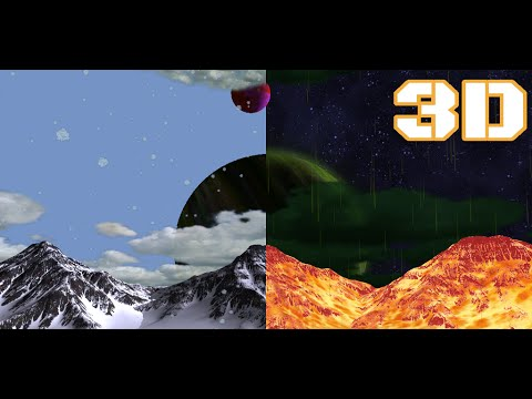 Alien Planet Live Wallpaper 3D