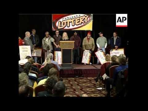 US Lottery Jackpot Winners - 2006