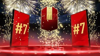 NUMBER 7 IN THE WORLD FUT CHAMPIONS REWARDS! 1 MILLION COINS MADE?! | FIFA 19 ULTIMATE TEAM