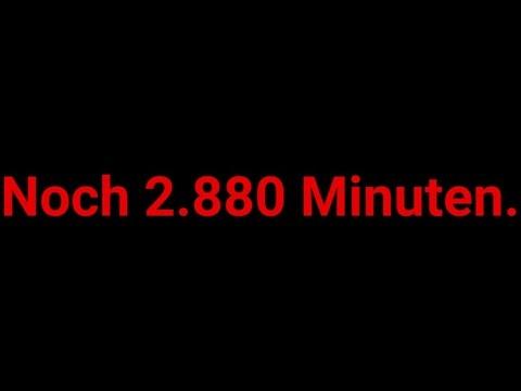 Noch 2.880 Minuten bis zum bisher größten Projekt von JamesKnopfSelbst.