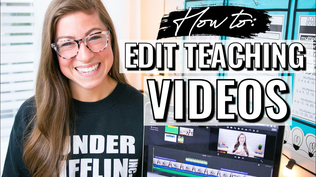 How to Edit Teaching Videos | Step-By-Step Tutorial