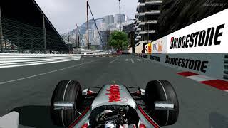 F1 Challenge 2007 - Alonso Monaco Pole Lap