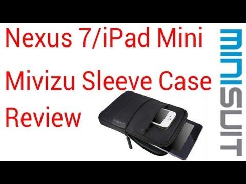 New Nexus 7 and iPad Mini Sleeve Case Review Mivizu