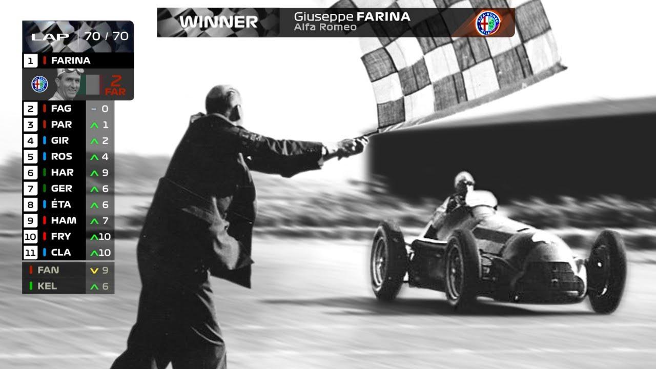 If The 1950 F1 Silverstone Grand Prix Had Modern Graphics