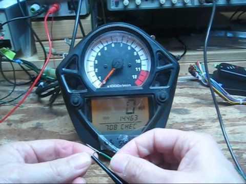 Gas Gauge Not Working >> SV650 ECM Serial Datastream to SV Gauge.wmv - YouTube