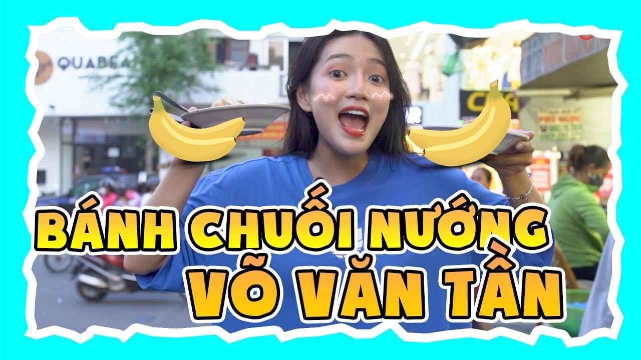 An Vy Tìm Lại Bánh Chuối Nướng Tuyệt Hảo Trên Đường Võ Văn Tần | An Vy Vlog