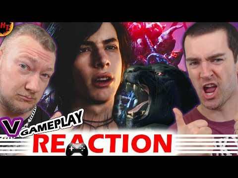 "''NEW'' 10 Minutes Of ""V"" Gameplay ! Devil May Cry 5 Reaction thumbnail"