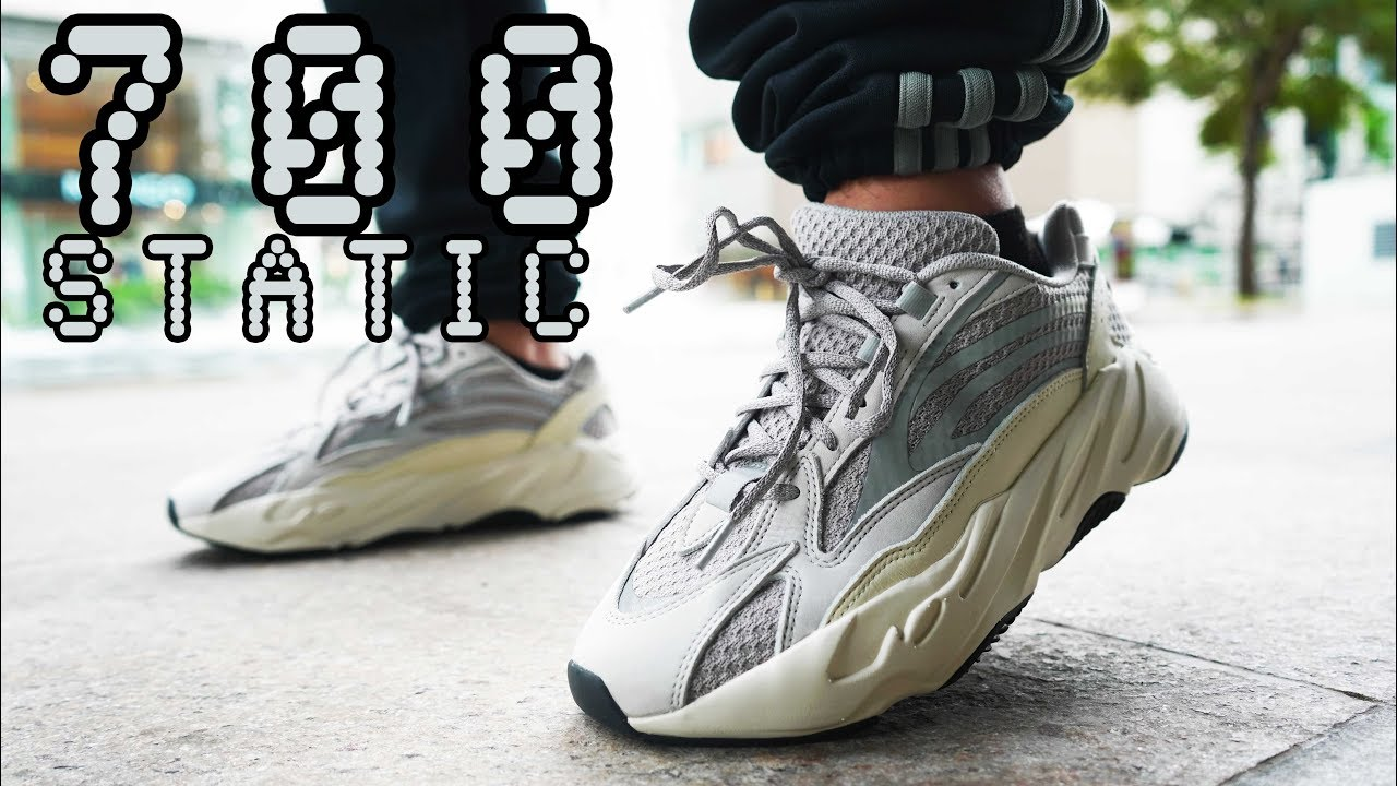 cheaper e843f a20b6 YEEZY 700 V2 STATIC SIZING AND ON FEET REVIEW