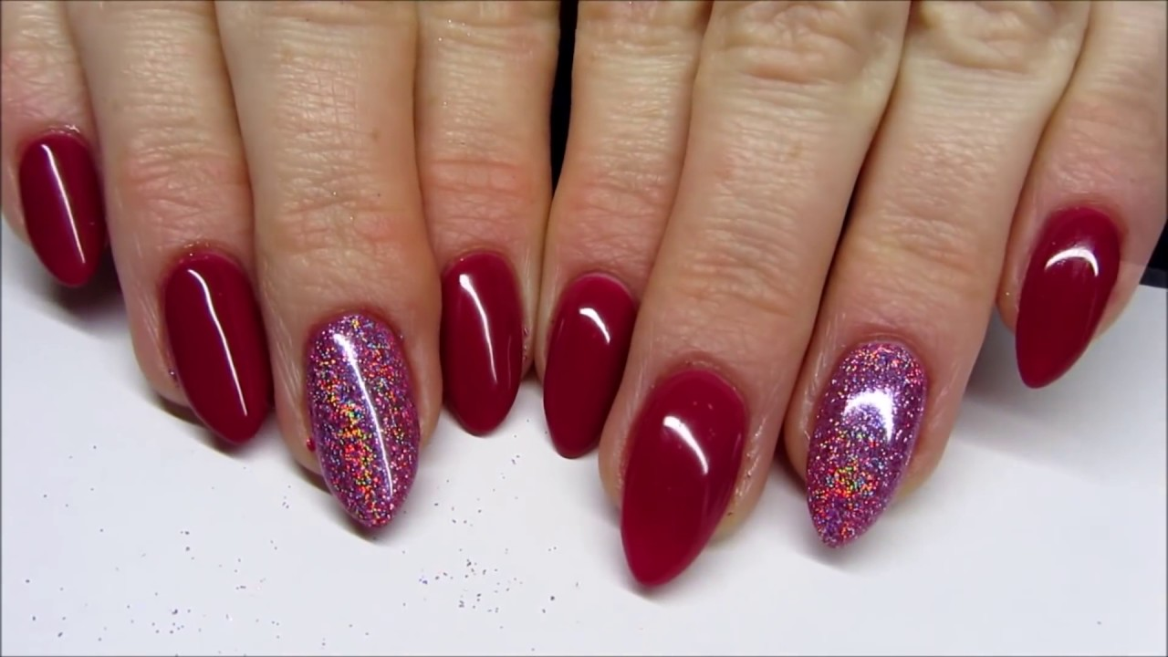 New Years Eve Holographic Nails Sylwestrowe Holo Paznokcie Youtube