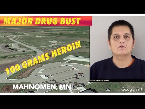 Mahnomen, MN Man Charged In Major Heroin Bust