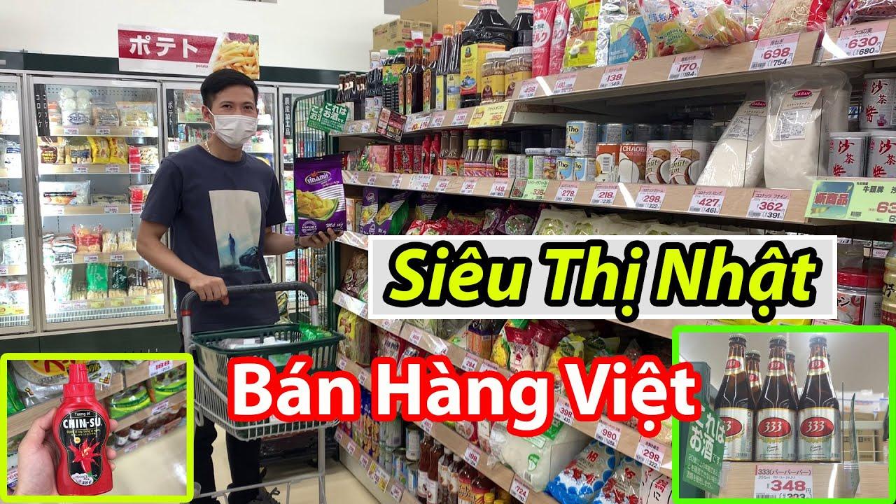 Đi Siêu Thị Nhật Mua Đồ Việt Nam | Cuộc Sống Ở Nhật | QuanJP