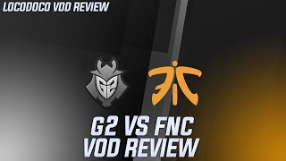 G2 vs FNC - Fnatic loses control of their mental leaving me scared for them