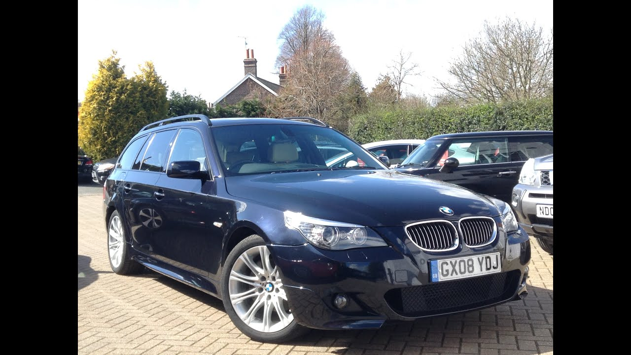 BMW 5 Series 3.0 525d M Sport Touring 5dr for Sale at CMC-Cars, Near ...