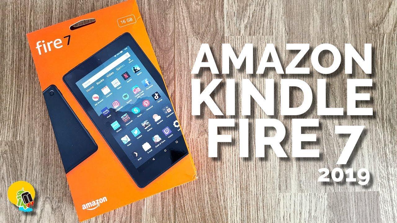 Análisis Amazon Kindle Fire 7 2019: una tablet barata y muy